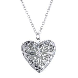 New Heart Silver Necklace